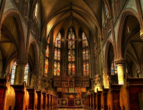 How do we celebrate Easter and sing our alleluias while sheltering in place?
